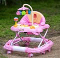 6 / 7-18 months baby infant child rocking horse walker anti-rollover brake dining table with music