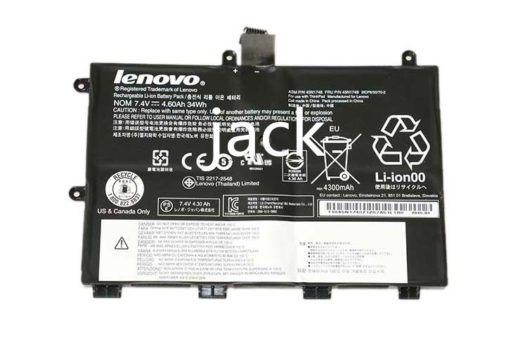 ФОТО The new Thinkpad laptop batterien Yoga 11e 45N1749 battery