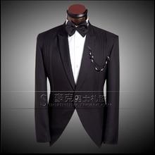 New fashion Men's Formal Dress Suit Sets Wedding Dress Leisure men Host Suit Jacket Plus Size (suit+pant) free shipping