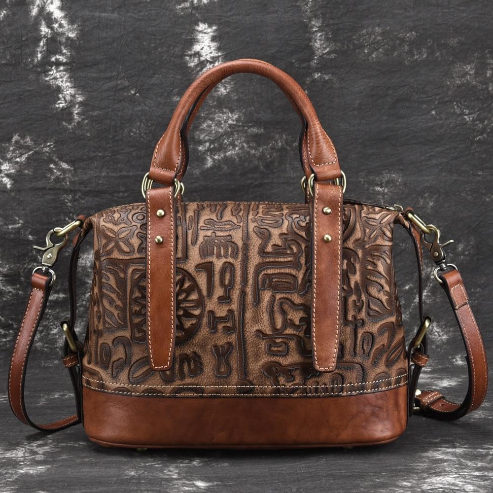 Hot Sale Women Casual Tote Bag Female Handbag Large Big Shoulder Bag for Women Tote Ladies Vintage Genuine Leather Crossbody Bag недорого