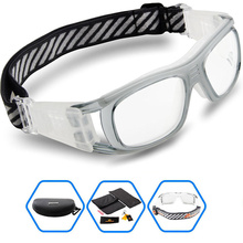 2017 PONOSOON New Protective Sports Cycling Eyewear Goggles Dribbling Glasses Myopia for Basketball Soccer Football Tennis Men