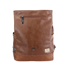 PU Leather Backpack for Men