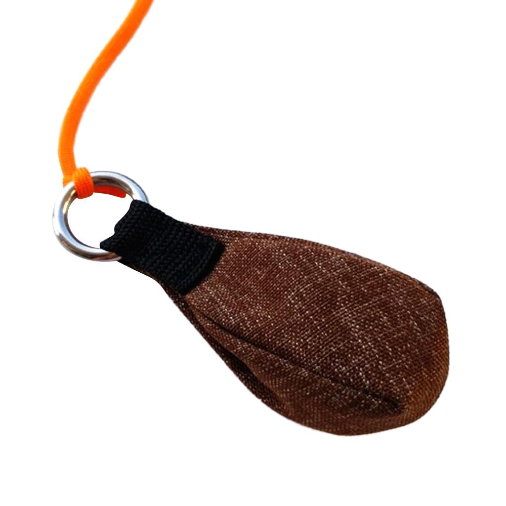 300g /10.58 oz Rock Climbing Tree Arborist Rigging Throw Weight Bag for Fishing Boating Rafting Mountaineering