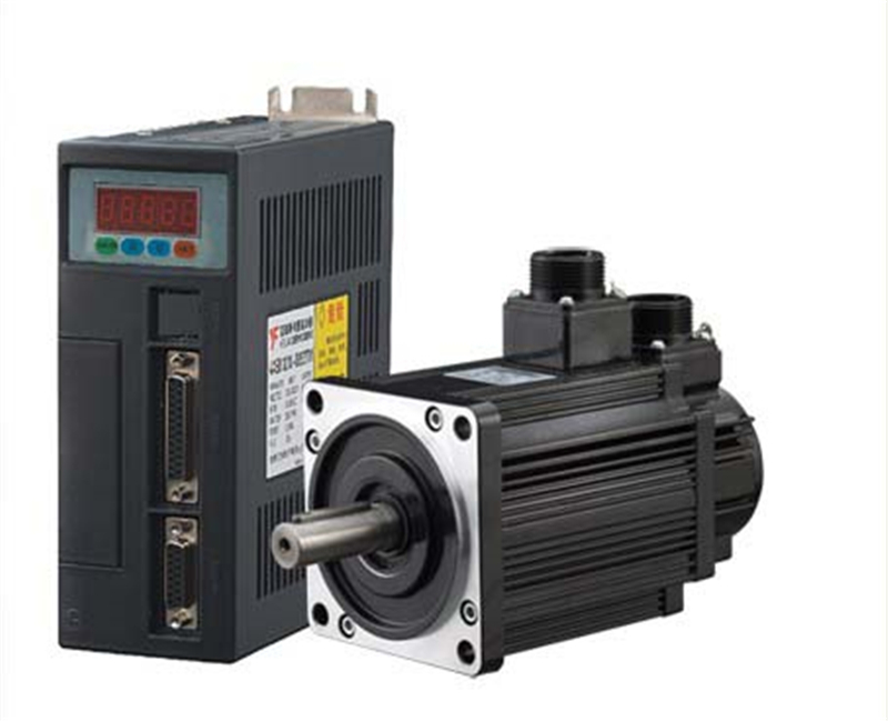 130mm AC Servo Drive Motor Kits 1kw 10Nm 220v 1000rpm NEMA52 130ST M10010 for Material Conveying
