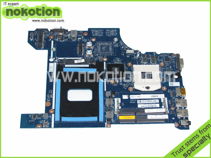 Mainboard for Lenovo Thinkpad Edge E531 Laptop Motherboard FRU 04Y1299 VILE2 NA-A044 Mother Boards Full Tested Free Shipping laptop motherboard for toshiba a205 a200 v000108040 integrated ddr2 mainboard full tested free shipping