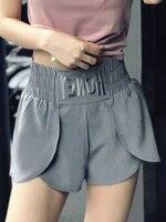 2019 summer blue skirt yoga pants shortth women leggings sports wear for gym ruffle waist fitness sportswear tights trouser