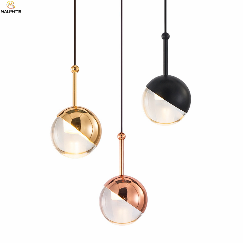 Modern Ball Hanging Pendant Lights Bedroom Bedside Luminaire Pendant Lamp Restaurant Bar Cafe Lighting Decor Kitchen FixturesModern Ball Hanging Pendant Lights Bedroom Bedside Luminaire Pendant Lamp Restaurant Bar Cafe Lighting Decor Kitchen Fixtures