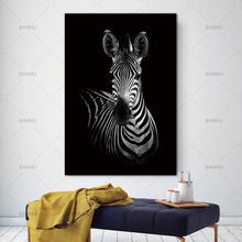 Top selling animal canvas painting Wall art Picture for Living Room Art poster Decoration Picture No Frame morden print wall(China)