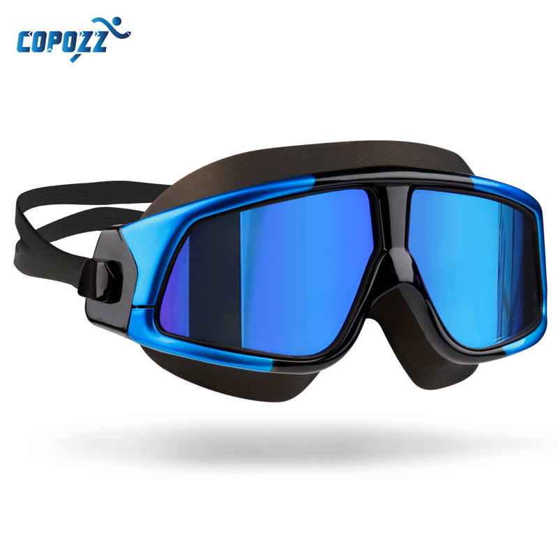 70d8d4bf2c8 Copozz Swim Goggles for Men Women s Glasses Anti-Fog UV Large Frame Adults  Sport Waterproof Silicone swimming goggles Eyewear. В избранное. gallery  image
