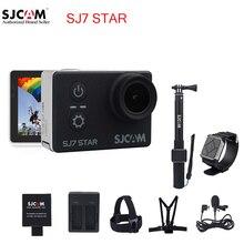 100% оригинал sjcam sj7 2 »звезда wifi 4 К сенсорный экран Ambarella A12S75 30 М Водонепроницаемый Пульт Дистанционного Камера Action Sports Cam Мини DVR