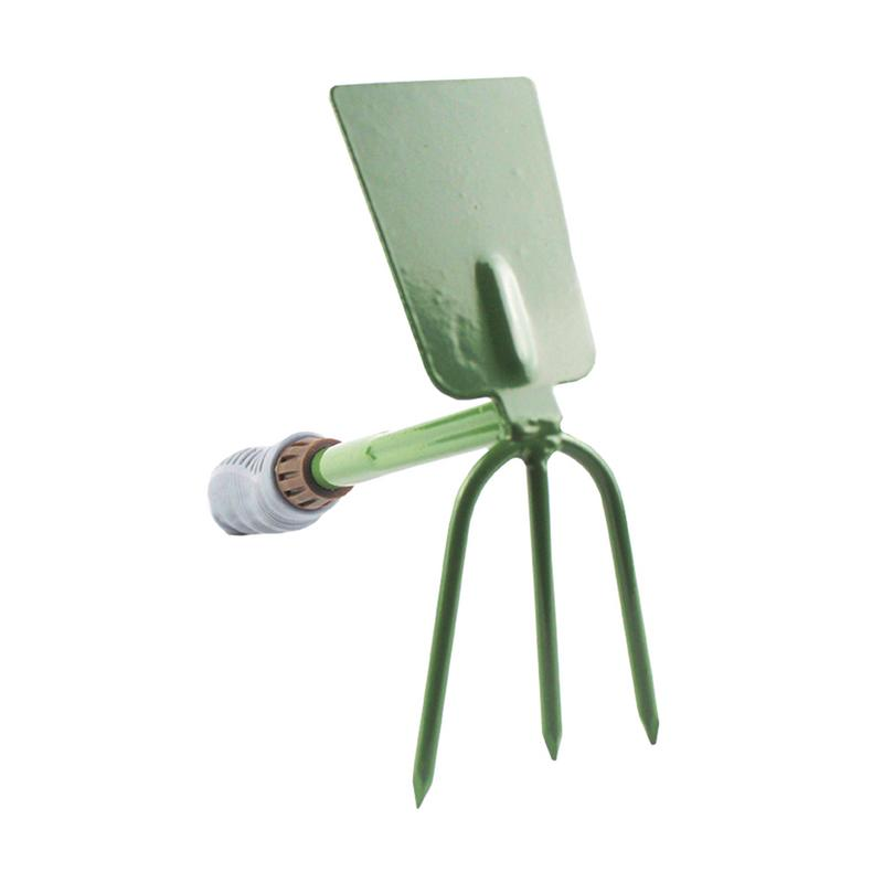 New Arrival Dual-purpose Gardening Tool Hoe/Rake For Home Garden/Plating Flowers Loosen Soil Thickness Hand Tool