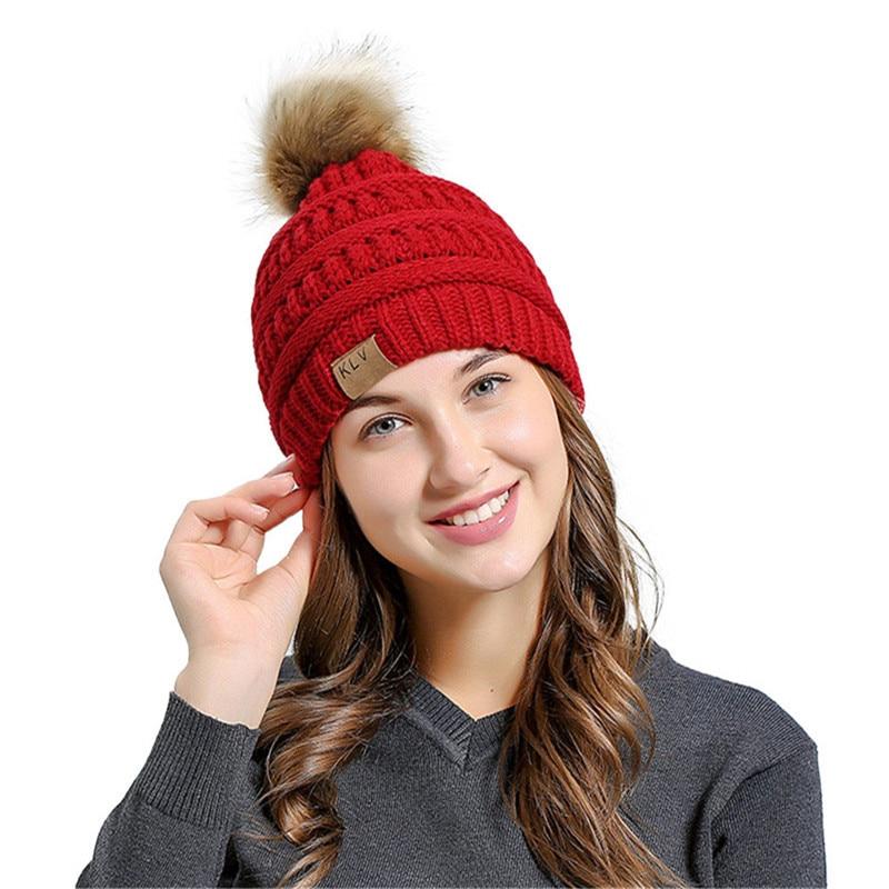 Jinggton 2017 Men Women Baggy Warm Crochet Winter Wool Knit Ski Beanie Skull Slouchy Caps Hat Dropshipping men women crochet knit plicate baggy beanie wool blend hat skull winter warm cap y107