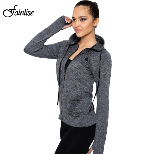 B.BANG Casual Women Hoodies Quick-dry Long-sleeve Top for Female Fashion Zipper Jacket with Hood Coat moletom feminino