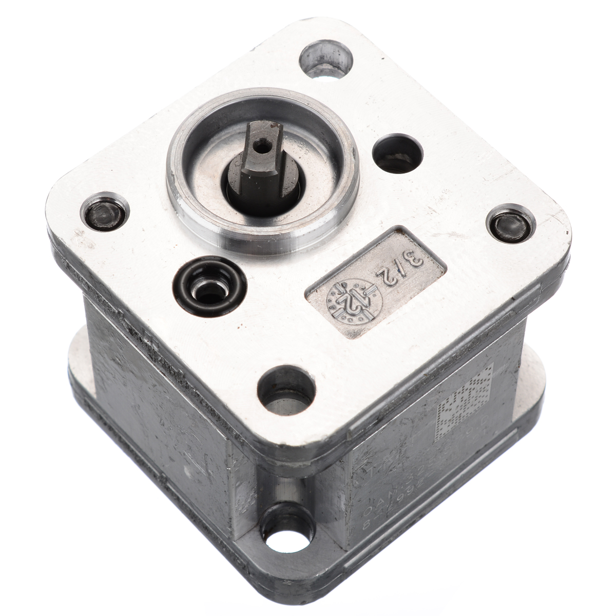 New Hydraulic Gear Pump Metal Gear Pump Hydraulic Model Excavating Machinery For Home DIY Tools Durable