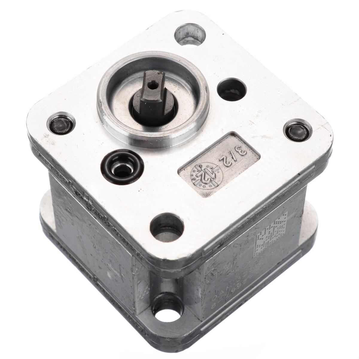 New Hydraulic Gear Pump Metal Gear Pump Hydraulic Model Excavating Machinery For Home DIY Tools Durable