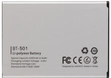 MLLSE  Battery BT-501 BT501 100% NEW High Quality 2200mAh Back-up Battery for LEAGOO Alfa 5 Smartphone