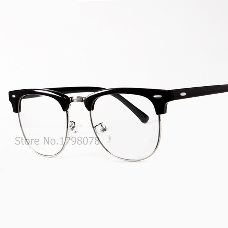 2016 New Retro Female Male Eyeglasses Brand Design Eye Glasses ...