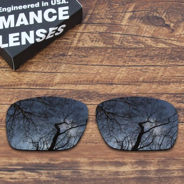 eb07100d3d ToughAsNails Polarized Replacement Lenses for Oakley Holbrook Sunglasses  Black (Lens Only)