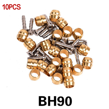 10 Pairs T- Oil Pins Hydraulic Disc Brake Connector Bicycle Brake Hose Olive  For Shimano BH90 BH59