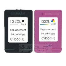 Compatible ink cartridges 122XL BK 122XL C For HP 122 Ink Cartridge HP122 For HP Deskjet 3050 1000 1050 2000 2050 3000 3050A