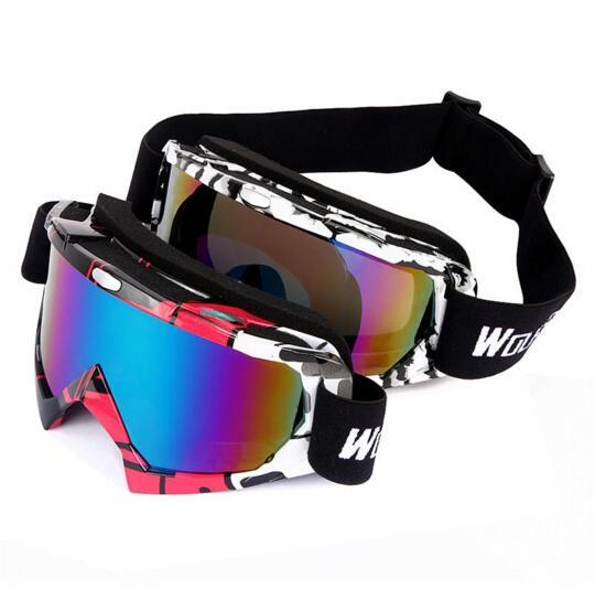 WOLFBIKE UV400 Защитные лыжные очки для спорта на открытом воздухе Сноубординг Скейт очки мужские и женские зимние лыжные Солнцезащитные очки