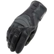 Бесплатная доставка мотоцикл кожа Водонепроницаемый Ветрозащитный перчатки велосипед перчатки зимние теплые перчатки