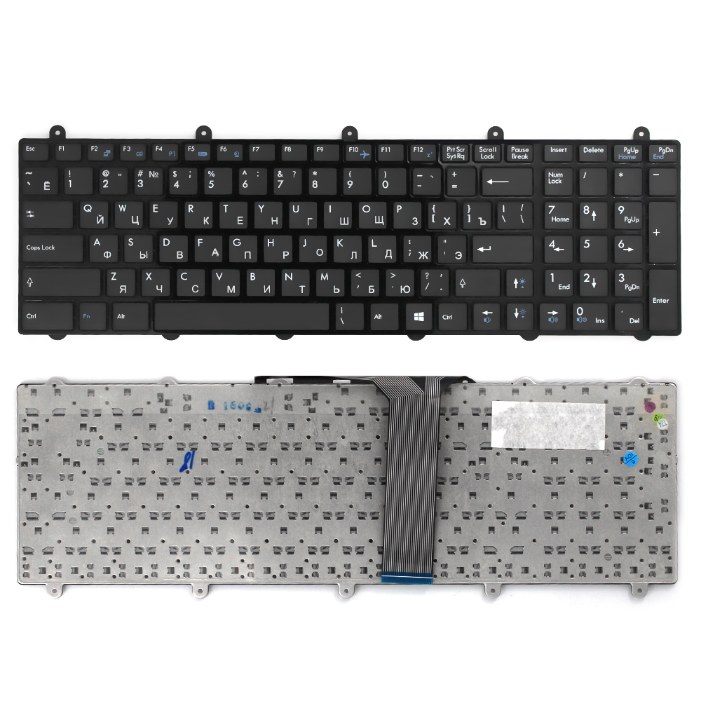Laptop keyboard For MSI GE60 GE70 GX60 GX70 GT60 GT70 GT780 GT783 MS-1762 For Clevo P150EM P170EM P370EM P570WM Ru keyboard laptop keyboard for msi ge60 black fs farsi with black frame
