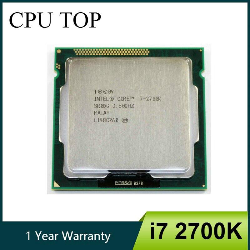 Intel Core i7 2700K 3 5GHz Quad Core LGA 1155 CPU Processor SR0DG