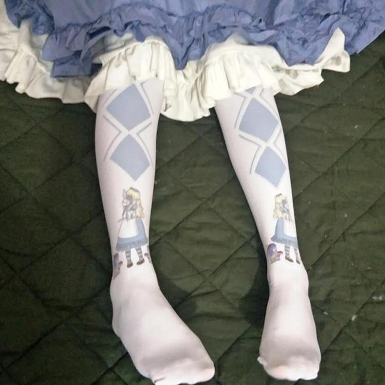 Miss Alice White Stockings