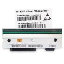 Zt410 cabeça de impressão para zebra zt410 impressora de código de barras térmica 300dpi compatível número da peça: P1058930 010