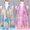Women scarf Print Adult Fashion Bufandas 2017 New Long Chiffon Scarf women And Decorative Women bandana scarves bufanda mujer