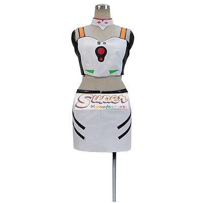 DJ дизайн Ева Евангелион Rei Ayanami форма COS Костюмы Косплэй костюм