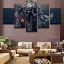 HD Print Paintings on Canvas Wall Art Anime Jiraiya Naruto Home Decor Picture 5 Piece Poster Modern Decorative