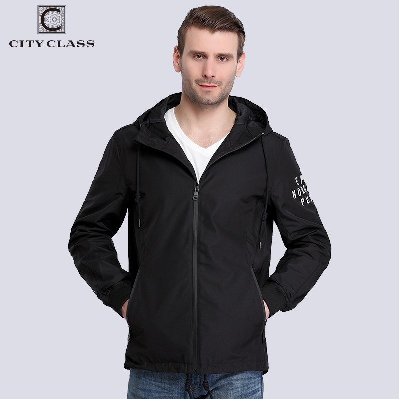 City Class 2017 New Spring Summer Waterproof Windbreaker Mens Jackets And Coats Hooded Print Letters Printed Letters Trench 3789