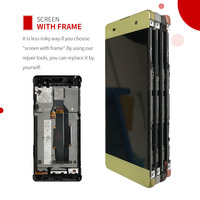 Warranty 5 0 1920x1080 LCD For SONY Xperia XA Display Touch Screen Digitizer Assembly Replacement F3111