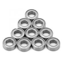 Miniature Bearing Deep-Groove Single-Rolling 10pcs Metal R166ZZ Shielded Rodamientos