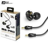 DHL משלוח M6 פרו Hifi בידוד רעש באוזן אוזניות ספורט אוזניות וmeelectronics M6 PRO-CL עם כבלים להסרה VS SE535