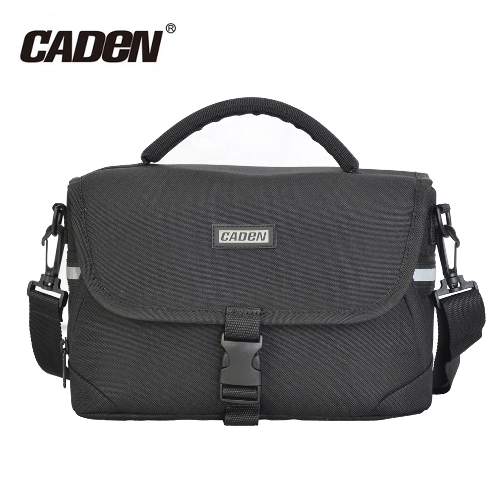 Caden DSLR/SLR Camera Bag Case for <font><b>Canon</b></font> EOS 100D 550D 600D 700D 750D <font><b>60D</b></font> 70D 5D 1300D 1200D Waterproof Shoulder Bag <font><b>Cover</b></font> Case image