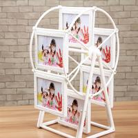 גלגל ענק מסתובב מסגרת תמונה פלסטיק תמונה בצורה יפה מסגרות קישוטי בית תצוגת תמונה מתנת מסגרת תמונה