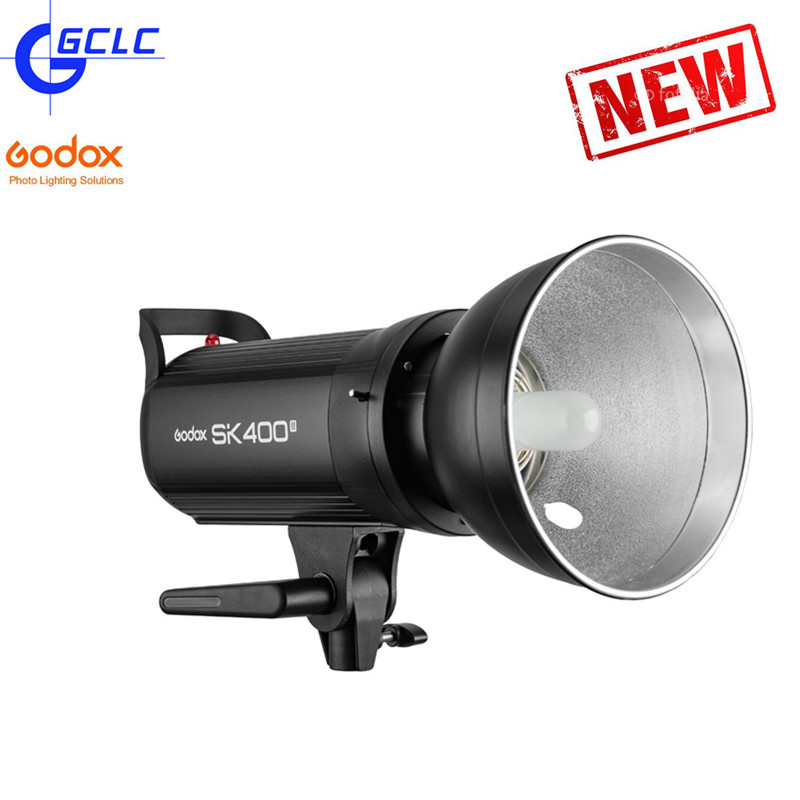 GODOX SK400 II 110V 220V Professional Studio Strobe SK Series Power 5600K Max 400WS GN65 Flash Studio Light Lamp lenspen sensorklear ii sk ii a