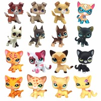 Cute LPS Toy Kids Collection Figure Short Hair Cat EUROPEAN 2118 Children S Gifts