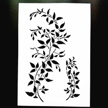 A4 Size DIY Craft Layering Stencil Template For Wall Painting Decorative Scrapbooking Stamping Photo Album Decor