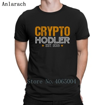 Crypto Hodler Est 2019 T Shirt Letters Crazy Plus Size 3xl Create New Style Streetwear Tee Shirt Summer Style Shirt