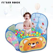 Foldable Fashion Children's Toys Gaming Cartoon Ocean Ball Pool Pit Tent with Basket Outdoor Playhouse Set Toy for Kids Baby