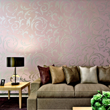 HANMERO Warm Buttercup Potato Leaves Wallpaper Simple European Living Room  TV Backdrop Design Wall Murals QZ0218 Free Shipping