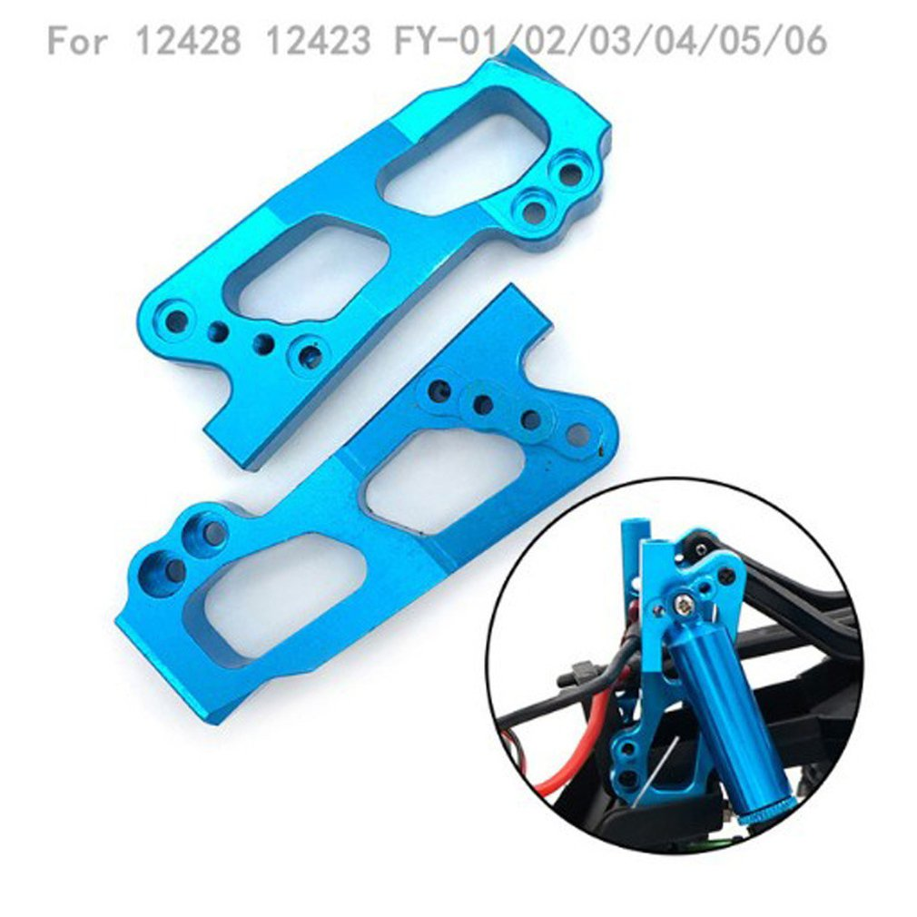 1pair RC Cars Aluminum Metal <font><b>Shock</b></font> Absorber Bracket/<font><b>Front</b></font> Swing Arm For Wltoys <font><b>12428</b></font> Feiyue Fy-03 Remote Control Car image