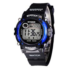 Hot Waterproof Electronic Multifunction Sports Wrist Watch For Kids Child Boys Watches