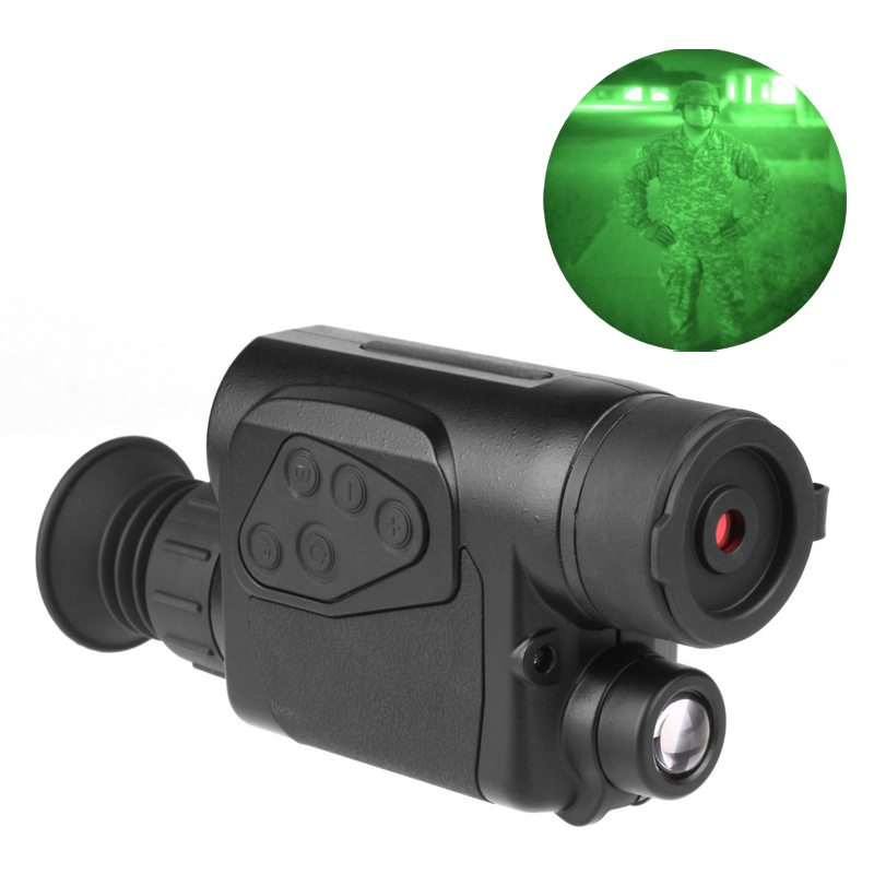 day and night 32mm Infrared night vision monocular visor nocturno caza  luneta visao noturna monocular vision nocturna NV001 night and day