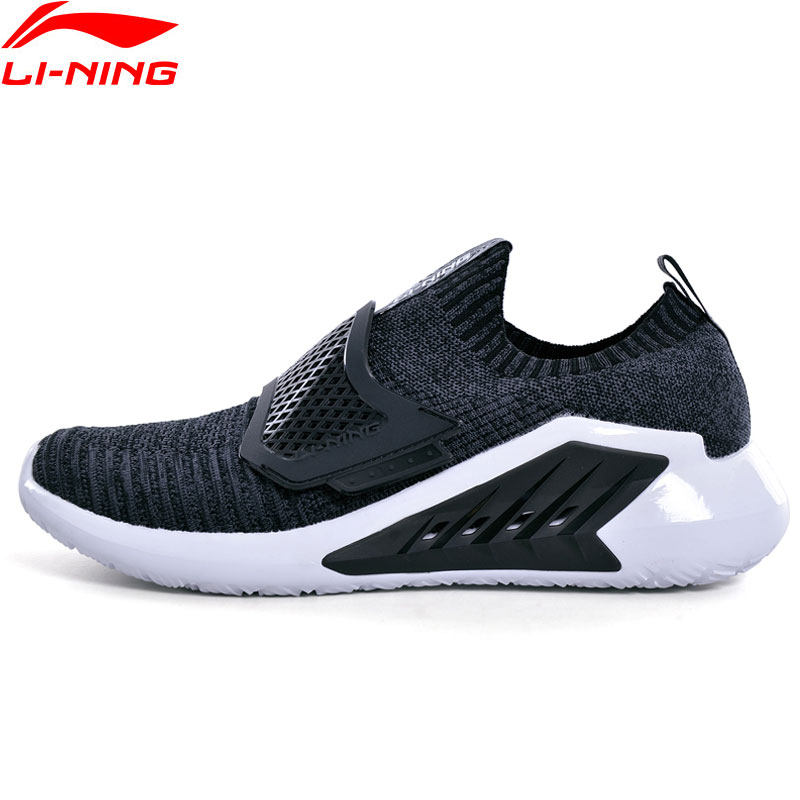 Li Ning Men EXTRA Leisure Lifestyle Shoes Soft Comfortable LiNing Sneakers TPU Support Sport Shoes AGLN067