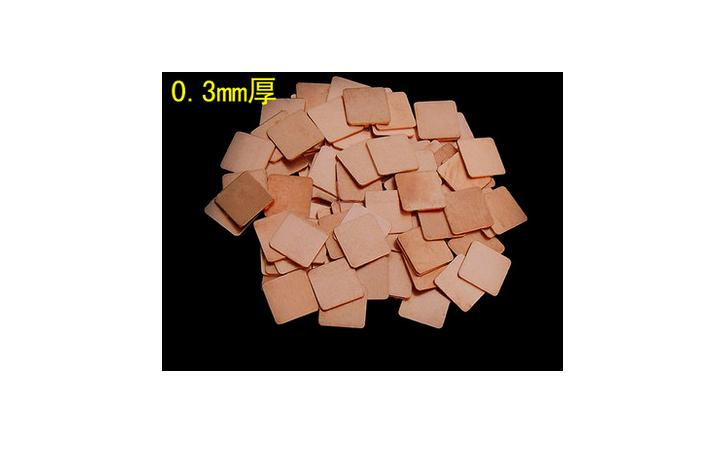 Copper sheet 15 mm 15 mm 0 3 mm notebook graphics thermal pad heat sink 0